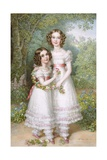 The Talbot Sisters Giclee Print by Johann Nepomuk Ender