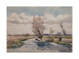 Landscape Giclee Print by Henri Duhem