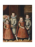 The Children of Giordano Orsini Giclee Print by Scipione Pulzone