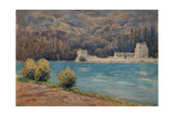 Talloires When Visiting Albert Besnard Giclee Print by Henri Duhem