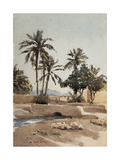 Biskra, 17th April 1889 Giclee Print by Henri Duhem
