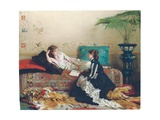 Idle Moments Giclee Print by Gustave Leonard de Jonghe