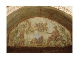 The Ascension of Elijah, Catacombs of Via Latina, Rome Giclee Print