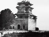 The Belvedere of the God of Literature at the Summer Palace, Beijing, 1860 Photographic Print by Felice Beato