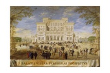 View of the Villa Borghese Giclee Print by Johann Wilhelm Baur