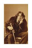 Oscar Wilde, 1882 Giclee Print by Napoleon Sarony