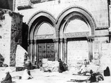 Entrance to the Church of the Holy Sepulchre, 1865 Photographic Print by Sgt. James McDonald