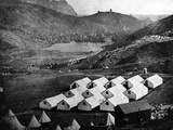 British Army Camp at Balaclava, 1855 Photographic Print by James Robertson