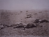 Dead Soldiers on the Battlefield of Getyysburg, 1863 Photographic Print by Mathew Brady