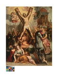 The Crucifixion of Saint Andrew Giclee Print by Otto van Veen