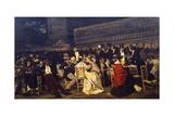 Piazza San Marco, 1869 Giclee Print by Michele Cammarano