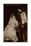 Ak Kaiser Karl I. Und Kaiserin Zita Von Ungarn, Npg 6123 Photographic Print