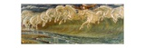 The Horses of Neptune, 1892 Giclee Print by Walter Crane