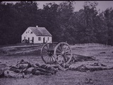 Dead Confederate Gun Crew after Battle of Antietam, 1862 Photographic Print by Alexander Gardner