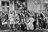 Photomontage of World Rulers, 1867 Photographic Print