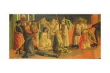 Story of Saint Sylvester Giclee Print by Francesco Di Stefano Pesellino