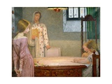 A Winter's Evening Gicleetryck av Frederick Cayley Robinson