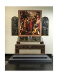Altarpiece of the Guild of the Minters, 1602 Giclée-Druck von Maarten de Vos