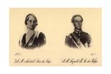 Ak S.M. Astrid Reine Des Belges, S.M. Léopold III. Roi Des Belges Photographic Print by  German photographer