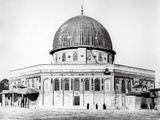 The Dome of the Rock, 1858 Photographic Print by  James Robertson and Felice Beato