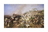 The Battle of Dogali, 1896 Giclee Print by Michele Cammarano