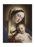 Madonna and Child Giclee Print by  Giovanni Battista Salvi da Sassoferrato