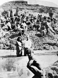 Mormon Baptism of Native Americans, C.1875 Photographic Print