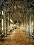 Hall of Mirrors, Palazzo Doria Pamphilj, Rome Fotografie-Druck