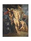 Saint Sebastian Tended by Angels, 1601-02 Wydruk giclee autor Peter Paul Rubens