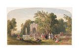 Fete Champetre, 1849 Giclee Print by George Haydock Dodgson