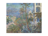 Villas at Bordighera, 1884 Giclee Print by Claude Monet