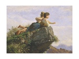 Contemplation Giclee Print by Filippo Palizzi