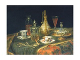 Crystal of Bohemia, Tea and a Watch Giclee Print by Christian Berentz