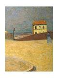 House in Montmartre Giclee Print by Federigo Zandomeneghi