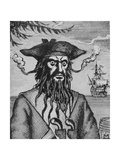 Blackbeard the Pirate Giclee Print