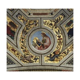 Vault of the Presbytery with Luke the Evangelist, Santa Maria Del Popolo, Rome, C.1484-92 Giclee Print by Bernardino di Betto Pinturicchio