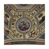 Vault of the Presbytery, Santa Maria Del Popolo, Rome, C.1484-92 Giclée-tryk af Bernardino di Betto Pinturicchio