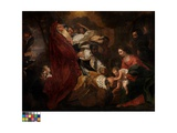 The Three Magi Impression giclée par Hendrik van the Elder Balen