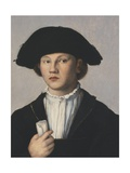 Portrait of a Young Man Giclee Print by Jan van Scorel