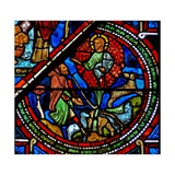 Window W15 Depicting Moses and the Burning Bush Giclee Print