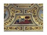 Vault of the Presbytery with the Cimmerian Sybil, Santa Maria Del Popolo, Rome, C.1484-92 Giclée-tryk af Bernardino di Betto Pinturicchio