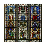 Window W6 Depicting the Calling of Andrew and Peter Giclee Print
