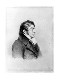 Portrait of Joseph Mallord William Turner, 1841 Giclee Print by Charles Turner