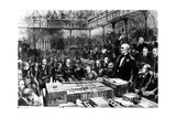 Home Rule Debate in the House of Commons - Gladstone's Peroration, Illustration from 'The… Giclee Print by Sydney Prior Hall