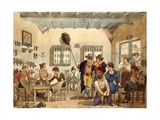 Cobbler's Shop Giclee Print by Bartolomeo Pinelli