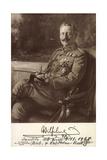 Ak Kaiser Wilhelm II. Von Preußen, Liersch 7800 Reproduction photographique