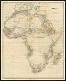 Africa, c.1834 Prints by John Arrowsmith