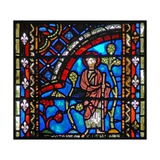 Window W53 Depicting St John the Baptist Sets Out for the Desert Giclee Print