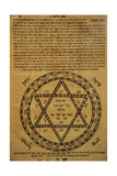 Judaism. Divine Protection. Amulets. Often Consisted of Scrolls Written in Hebrew and the Texts… Giclee Print