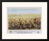 Custer's Last Fight Print by Edward Szmyd
